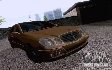 Mercedes-Benz E55 AMG für GTA San Andreas linke Ansicht
