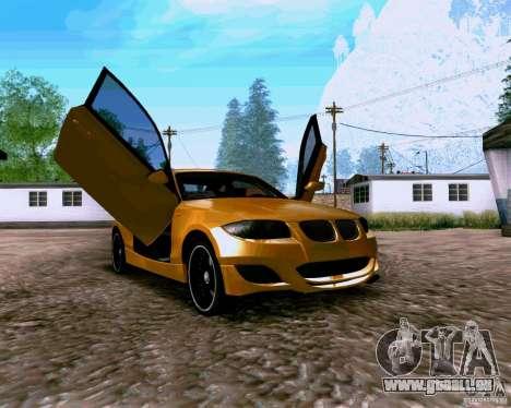 BMW 135 Tuning pour GTA San Andreas vue de droite