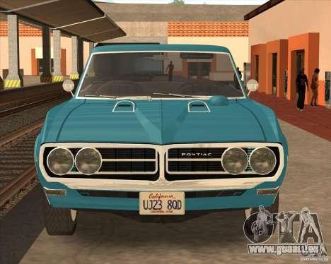 Pontiac Firebird Conversible 1966 für GTA San Andreas linke Ansicht
