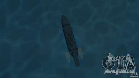 Seehund Midget Submarine skin 2 pour une vue GTA Vice City de la droite