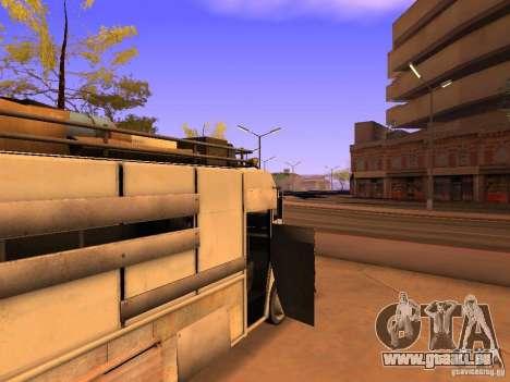 Monster Van pour GTA San Andreas vue de dessous