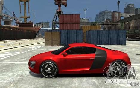 Audi R8 2008 pour GTA 4 est une gauche