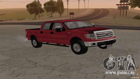 Ford F-150 Platinum Final 2013 pour GTA San Andreas