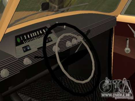 IZH-412 für GTA San Andreas Rückansicht
