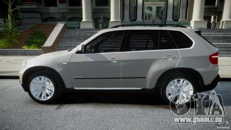 BMW X5 Experience Version 2009 Wheels 223M pour GTA 4 est une gauche