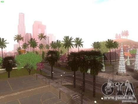 Spring Season v2 pour GTA San Andreas quatrième écran