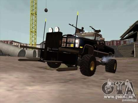 Chevrolet Hunter pour GTA San Andreas laissé vue