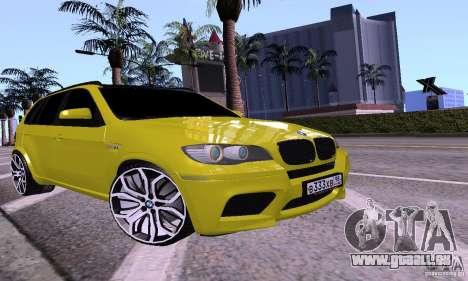 BMW X5M Gold für GTA San Andreas