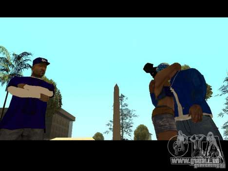 Piru Street Crips pour GTA San Andreas dixième écran