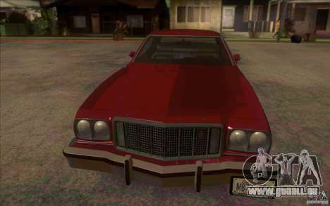 Ford Torino pour GTA San Andreas laissé vue