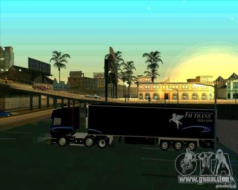 Trailer zu der Scania-R620 Pimped für GTA San Andreas