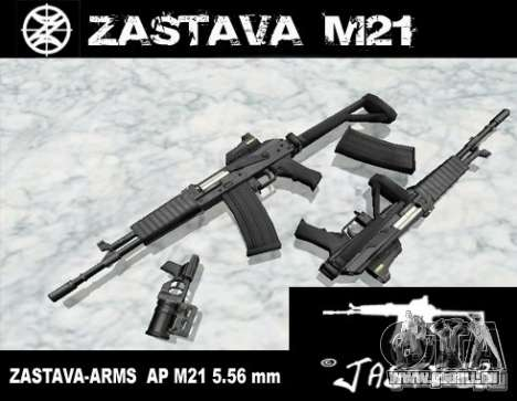 Zastava Arms M21 Final für GTA San Andreas
