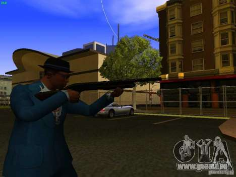 Remington 870 Action Express für GTA San Andreas her Screenshot