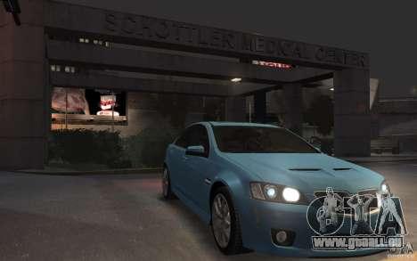 Pontiac G8 GXP für GTA 4 Rückansicht
