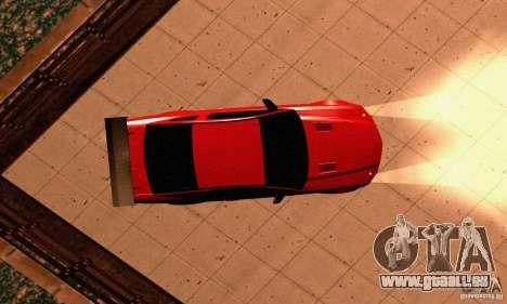 Shelby GT500 KR pour GTA San Andreas vue de côté