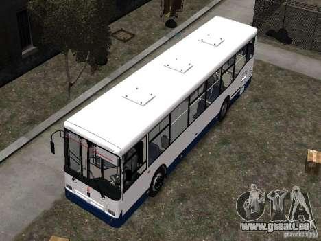 NefAZ-5299 10-15 für GTA 4 obere Ansicht
