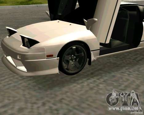Nissan 240SX S13 für GTA San Andreas rechten Ansicht