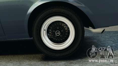 Buick GNX 1987 pour GTA 4 vue de dessus