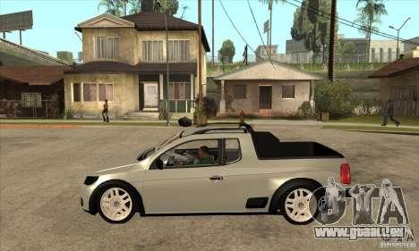 Volkswagen Saveiro G5 für GTA San Andreas linke Ansicht