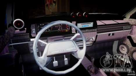 Vaz-2109 Samara 1999 pour GTA 4 est une vue de dessous