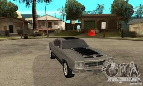 Sabre de GTA 4 pour GTA San Andreas vue arrière