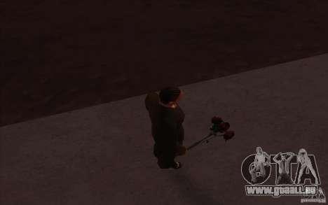 Flowers HD pour GTA San Andreas troisième écran