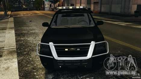 Chevrolet Avalanche 2007 [ELS] pour GTA 4 est une vue de dessous