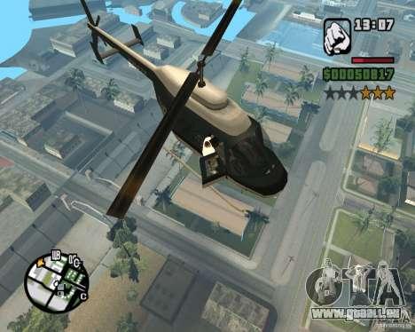 Zaprygivayem hélicoptère pour GTA San Andreas