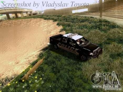 Ford F-150 Interceptor pour GTA San Andreas vue de côté