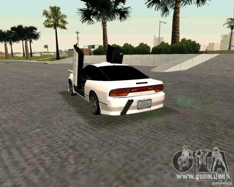 Nissan 240SX S13 pour GTA San Andreas laissé vue