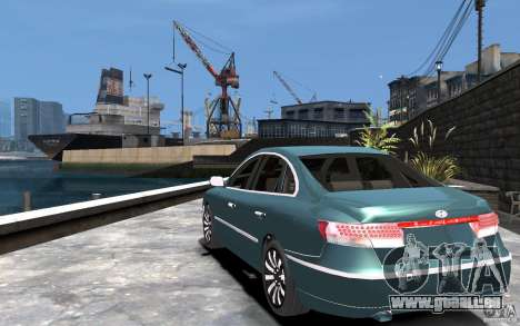 Hyundai Azera 2008 pour GTA 4 Vue arrière de la gauche