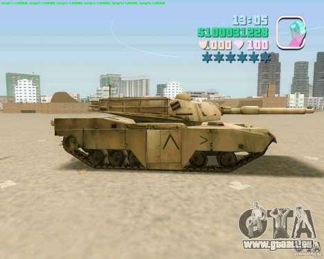 M 1 A2 Abrams pour GTA Vice City le sixième écran