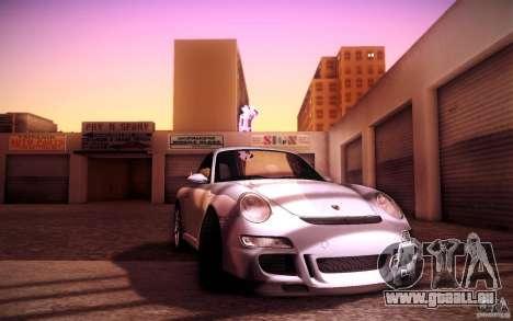 Porsche 911 GT3 (997) 2007 für GTA San Andreas Seitenansicht