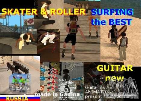 GTA SA SIMS real pour GTA San Andreas deuxième écran