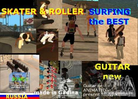 GTA SA SIMS real für GTA San Andreas zweiten Screenshot