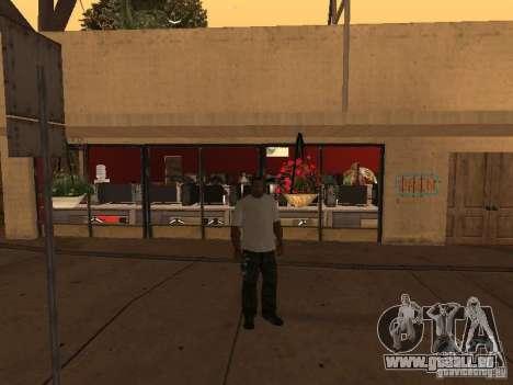 Ganton Cyber Cafe Mod v1.0 pour GTA San Andreas