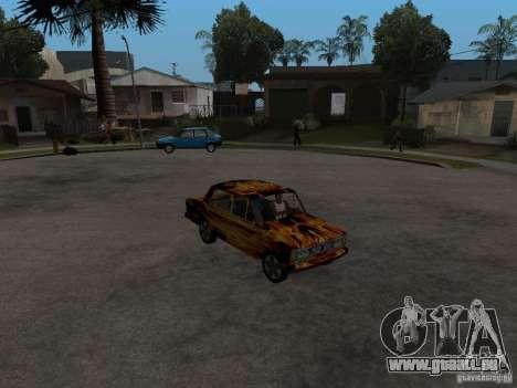 VAZ 2106 von dem Spiel s.t.a.l.k.e.r. für GTA San Andreas rechten Ansicht