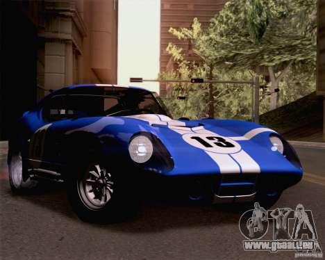 Shelby Cobra Daytona Coupe 1965 für GTA San Andreas