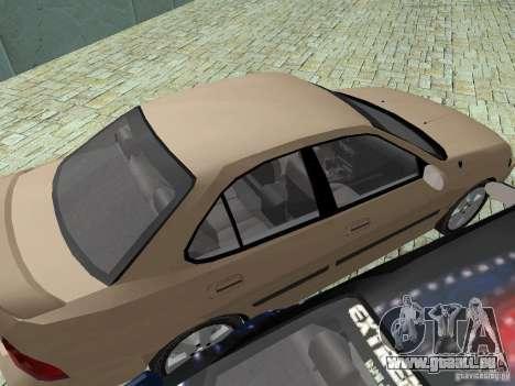 Nissan Sentra für GTA San Andreas Innenansicht