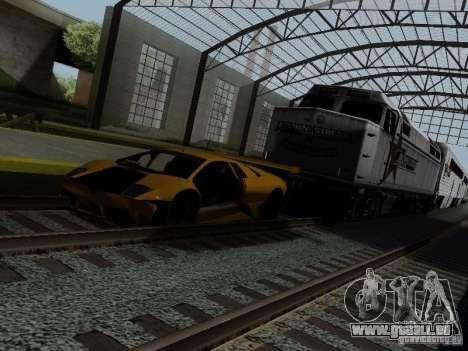 Crazy Trains MOD für GTA San Andreas siebten Screenshot