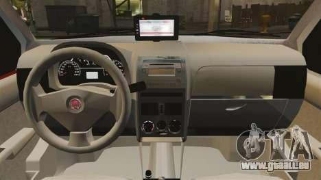 Fiat Palio Weekend Trekking 2013 PMESP ELS pour GTA 4 est une vue de l'intérieur