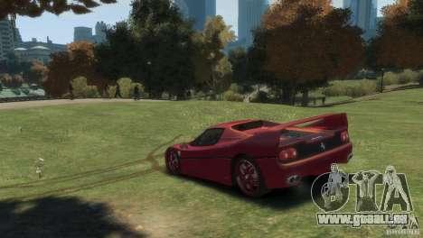 Ferrari F50 für GTA 4 linke Ansicht