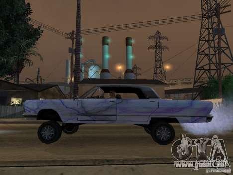 Neue Savanna-neue Farbe-Arbeit für GTA San Andreas rechten Ansicht