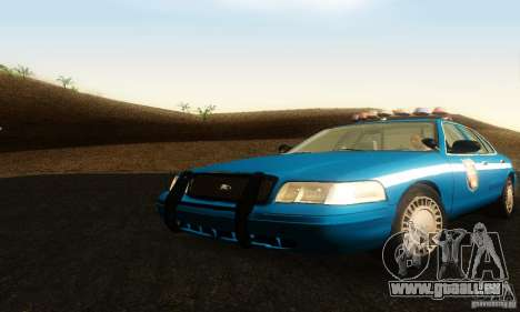 Ford Crown Victoria Wisconsin Police pour GTA San Andreas