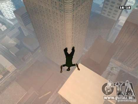 Parkour Mod für GTA San Andreas fünften Screenshot