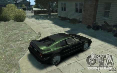 Lotus Esprit V8 für GTA 4 rechte Ansicht
