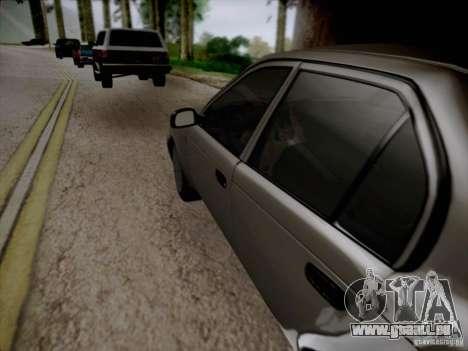 Toyota Corolla für GTA San Andreas obere Ansicht