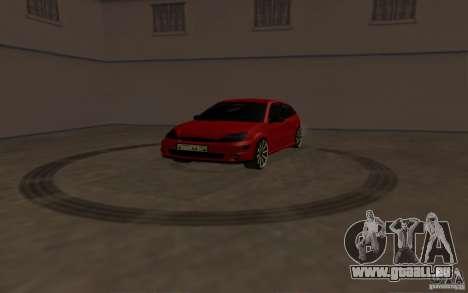 Ford Focus Light Tuning pour GTA San Andreas vue arrière