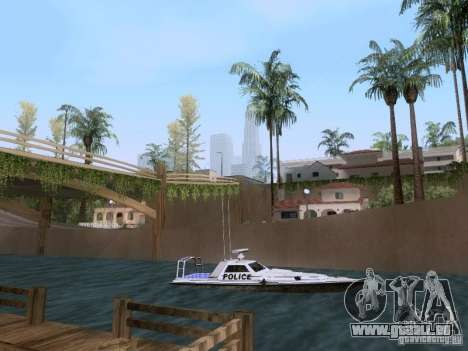 NEW Predator pour GTA San Andreas sur la vue arrière gauche