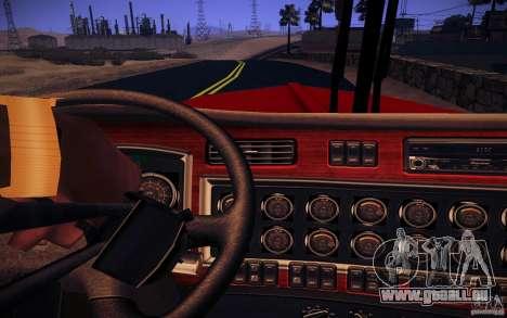 Kenworth W 900L für GTA San Andreas Unteransicht
